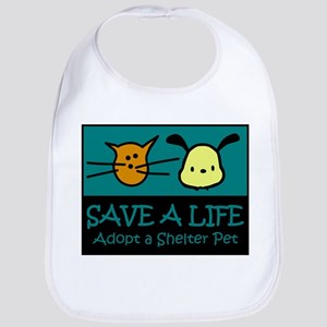 Save A Life Adopt a Pet Bib